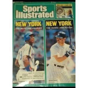 ⚾Sports Illustrated 1987 The New Mets York Yankees